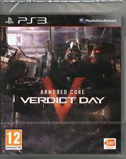 Armored core V verdict day JEU PS3 (blindé 5) ~ Neuf/Scellé