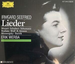 Irmgard Seefried Singt Lieder Recital Mozart Schubert Schumann 2 CD Box Set