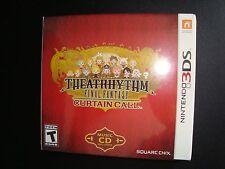 3DS THEATRHYTHM FINAL FANTASY CURTAIN CALL Limited Edition * SEALED * NEW*