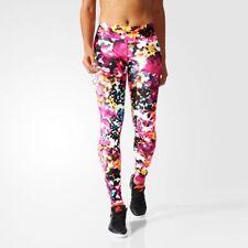 Full Length Floral Regular Size Leggings for Women