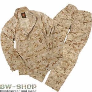 ORIGINAL US MARINE CORPS JACKE / HOSE DIGITAL TARN DESERT USMC ARMY FELDHOSE
