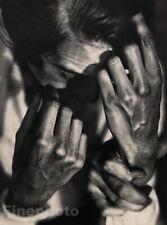1931 Vintage Germaine Krull Human Drama Hands Germany Original Photo Gravure
