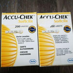 mehr 500 St.Softclix Stechhilfe Lanzetten Accu-Check ohne MHD abgelaufen ? Roche