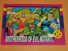 Brotherhood Of Evil Mutants  # 78 1992 Marvel X-men Series 1  Impel Trading Card