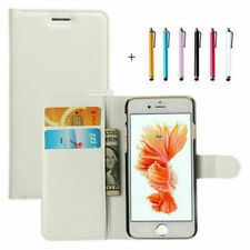 Flip Wallet Case PU Leather Card Slot Stand Cover For iPhone X 8 7 6 Plus 6s 5