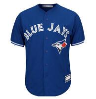 Toronto Blue Jays Jersey Majestic Official Cool Base Baseball Alternate S NEW
