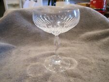 Gorham? Clear Crystal Champagne Tall Sherbet Glass/Goblet