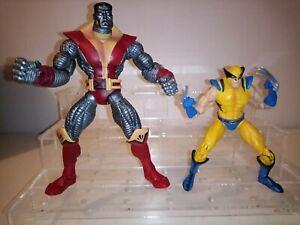 Marvel Legends WOLVERINE  & Colossus X-Men action figure lot