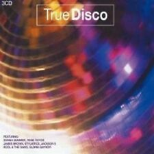 TRUE DISCO 3 CD BOX JAMES BROWN UVM NEW+
