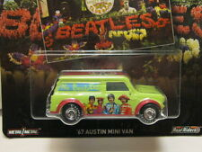 HOT WHEELS POP CULTURE-THE BEATLES ALBUM COVER 1967 AUSTIN MINI VAN NEW!