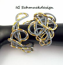 Modeschmuck-Armbänder im Armreif-Stil aus Aluminium