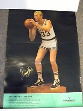 LARRY BIRD AUTOGRAPHED POSTER