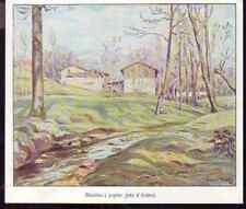 1933  --  MOULIN A PAPIER PRES D AMBERT  J216