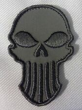PUNISHER LIGHT ACU TACTICAL COMBAT BADGE MORALE MILITARY PATCH
