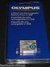 Olympus LI-30B Camera Lithium Ion Battery NEW in Package
