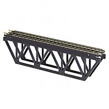 Atlas #884 Deck Truss Bridge Kit  -  HO Scale -  Code 100 Rails - Black Ties