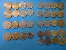 INDIA COINS LOT OF 28 (7 YEARS) CIRCULATED - RS.10,5,2 & 1 - 2011 TO 2017 #7ED