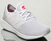 New Balance Fresh Foam Cruz v2 Sport Men White Grey Running Sneakers MCRUZR-W2