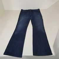 Womens 28x31 Citizens of Humanity Amber Stretch High Rise Bootcut blue jeans