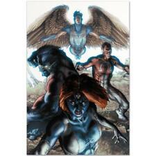 MARVEL Comics Numbered Limited Edition Dark X-Men Canvas Art
