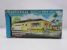 Plasticville 2301-59 RANCH HOUSE KIT HO Scale Model Railroading UNBUILT