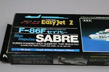 ZF422 Flying foam 1/48 avion FJ-02:500 Easyjet 2 F-86F Blue Impluse SABRE