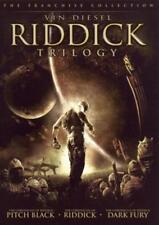 Riddick Trilogy: Pitch Black / Chronicles / Dark Fury (Dvd, 2006) New