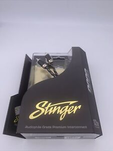 Stinger SI9212 Audio RCA Interconnect Cable 2-Channel 9000 Series Stereo 12 ft