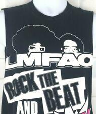 LMFAO Tank Top Small Black Party Rock Music Hip Hop Sleeveless Graphic  T Shirt