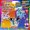✨SHINY✨ 6IV DIALGA PALKIA GIRATINA EVENT Pokemon Ultra Sun and Moon ORAS XY 3DS
