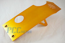 GOLD SKIDPLATE SKID PLATE UNDER ENGINE DIRT PIT BIKE XR50 CRF50 M SP07