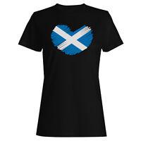 I Love Scotland Flag Ladies T-shirt/Tank Top u600f