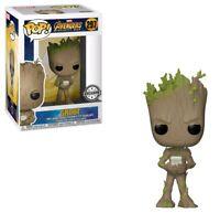 Funko--Avengers 3: Infinity War - Teen Groot with Video Game US Exclusive Pop...