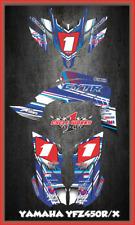 Yamaha YFZ 450R 450X EFI ATV DECALS SEMI CUSTOM GRAPHICS KIT PRIMAL2