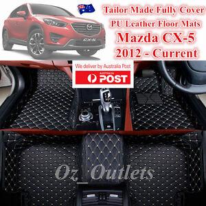 3D Cut Custom Made Waterproof Car Floor Mats fits Mazda KE CX5 2012 - 2017