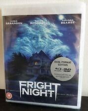 FRIGHT NIGHT (1985) Blu Ray/DVD 2-Disc Combo Special Edition + Documentary