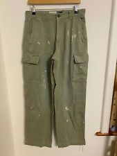 GAP beige 30 x 32  COTTON TROUSERS CARGO PANTS