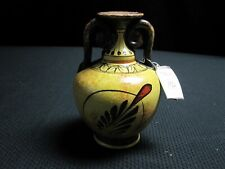 Athens Museum Replica/Reproduction Hand Made In Greece/Greek Vase ~ 6489