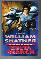 Star Trek Quest For Tomorrow Delta Search William Shatner 1997 Hardcover 1st Pr.