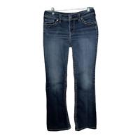 Silver Jeans Womens Jeans Suki Flap Bootcut Denim Pants Bottoms Blue Size 29
