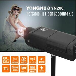 YONGNUO YN200 TTL HSS 2.4G Wireless Speedlite Flash Light w/ Battery for Canon