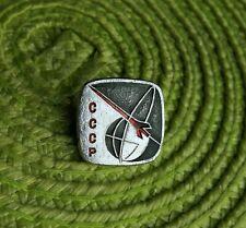 Rare Vintage Soviet Union Sputnik Satellite Era Space Souvenir Pin Badge