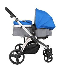 NEW Elle Baby Journey BLUE Stroller System Convertible Child Stroller and Pram