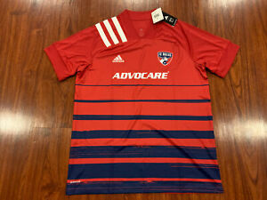 2020-21 Adidas Men's FC Dallas Home Soccer Jersey XL Extra Large MLS US
