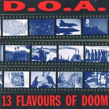 D.O.A. 13 flavours of doom CD neuf scellé