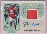 PARRIS CAMPBELL RC 2019 PANINI LEGACY FUTURES ROOKIE PATCH AUTO RPA AUTOGRAPH