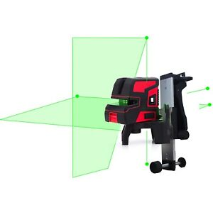NEW LND Self Leveling 2 Line 5 Point 1V1H Green Laser Level