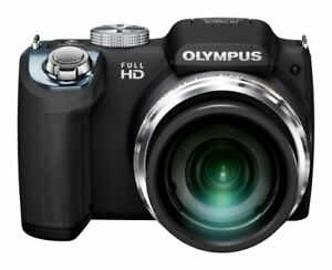 OLYMPUS Digital Camera SP-720UZ BLK 14.0 Megapixel CMOS 26x Optical Zoom 26mm