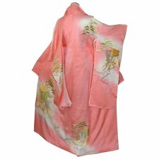 Japanese Kimono Silk Gold Imperial Embroidery, Cape, Asian Traditional