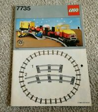 Vintage LEGO 7735 Railway Cargo Freight Train – INSTRUCTION MANUAL ONLY